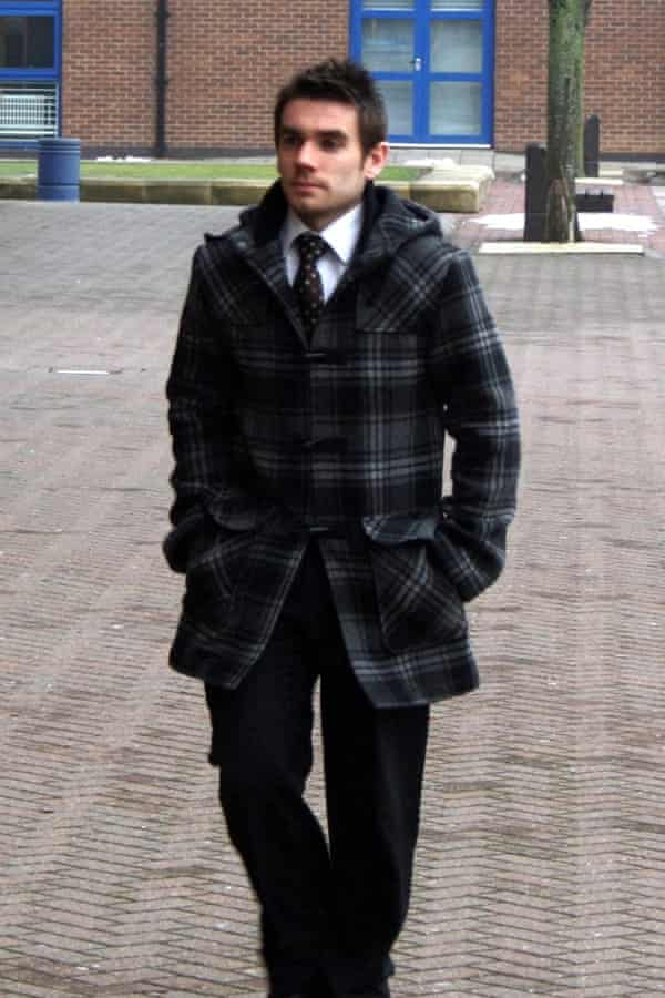 Alan Ellis arrives at Teesside Crown Court in 2010. He was found not guilty of conspiracy to defraud.