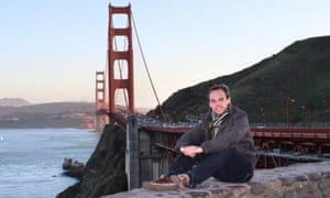 Andreas Lubitz at the Golden Gate Bridge in California. His behaviour resonates with Monis and other narcissists. Photograph: AFP/Getty Images