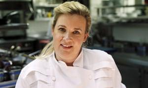 Hélène Darroze in her Paris restaurant