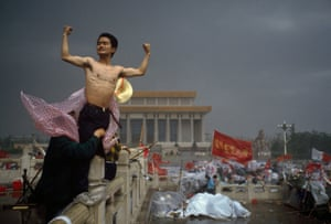Tiananmen Square, Beijing, 1989 by Stuart Franklin