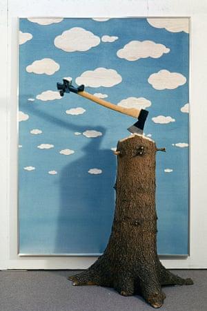Robin Page: Baumgeist (Tree Spirit), 1972.
