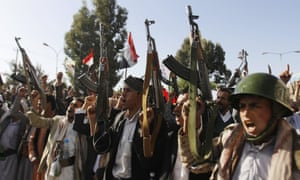 Shia rebels, known as Houthis