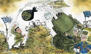 David Simonds Grexit cartoon 07.05.15