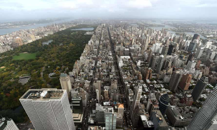 Urban jungle: New York City's Upper East Side.