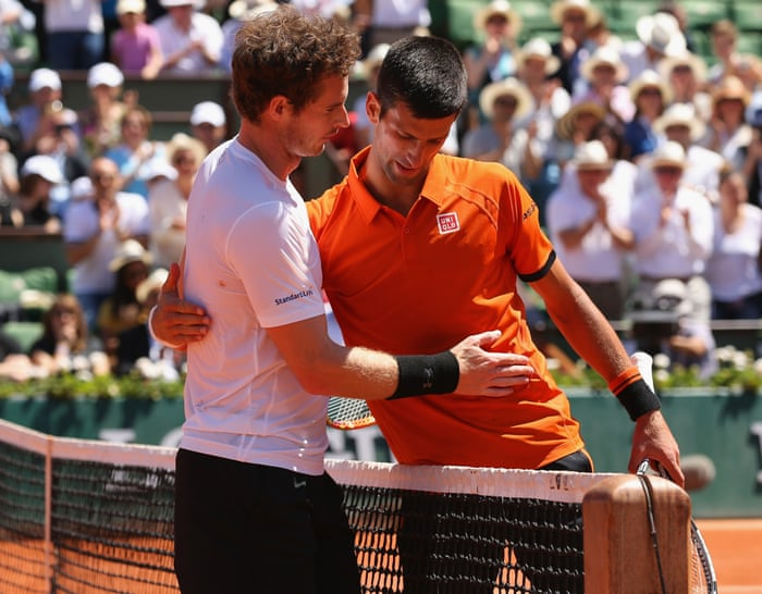Novak Djokovic Holds Off Andy Murray In Five Sets To Reach French Open Final French Open 2015 The Guardian