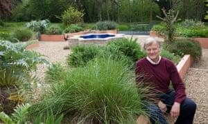 David Harrison's garden