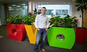 Stephen Fitzpatrick, the chief executive of Ovo Energy,
