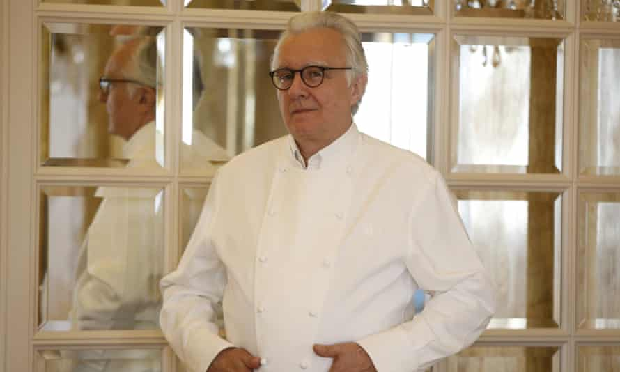 Darroze trained with Alain Ducasse at his Louis XV restaurant in Monaco; for months, she was only allowed to wash the lettuce.