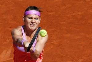 Lucie Safarova fires a shot back to Serena.