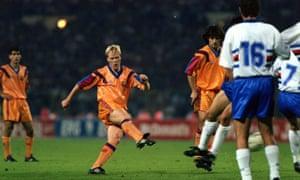 Koeman's magic moment in 1992.