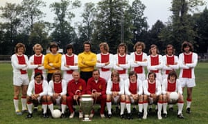 A day out in the country with Ajax Amsterdam in 1972.