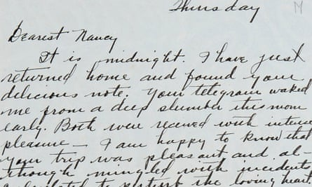 Section of a letter by Henry Crowder to Nancy Cunard.