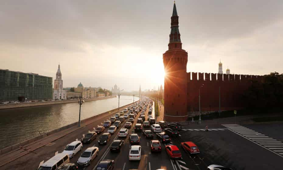 Welcome to Moscow: the Moskva river and Kremlin set the scene for our live week in the Russian capital.