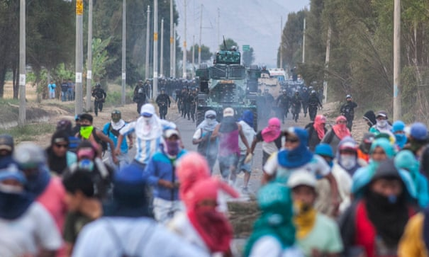 What is Peru's biggest environmental conflict right now