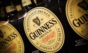 Guinness owner Diageo up on bid talk.