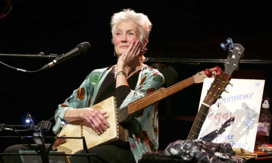 Peggy Seeger at the Queen Elizabeth Hall