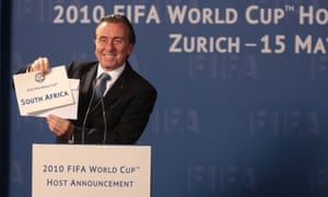 I can't believe it's not Blatter … Tim Roth as Sepp in United Passions.