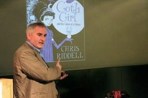 Chris Riddell at ed centre