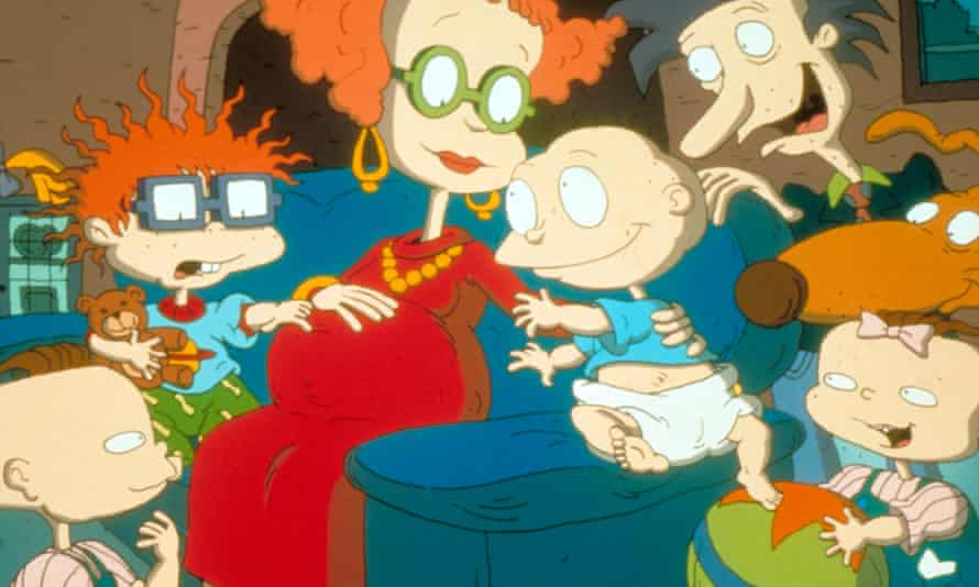 'Sometimes I do the Tommy voice at inappropriate times. I even did it for my mother's bank manager' ... the Rugrats cast