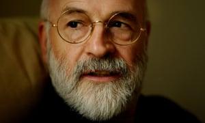 Terry Pratchett in 2001.
