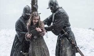 Stakes are high…Kerry Ingram as Shireen Baratheon.