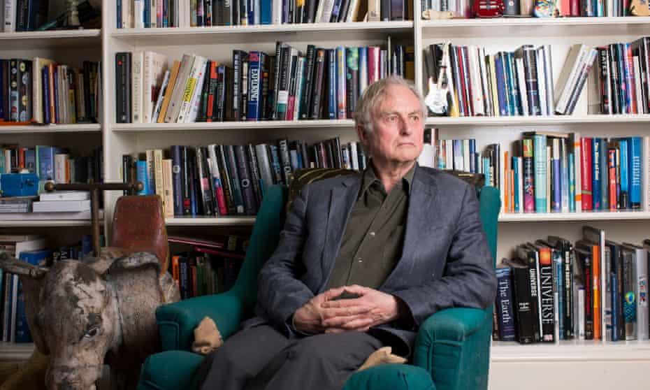 Richard Dawkins at home in Oxford.
