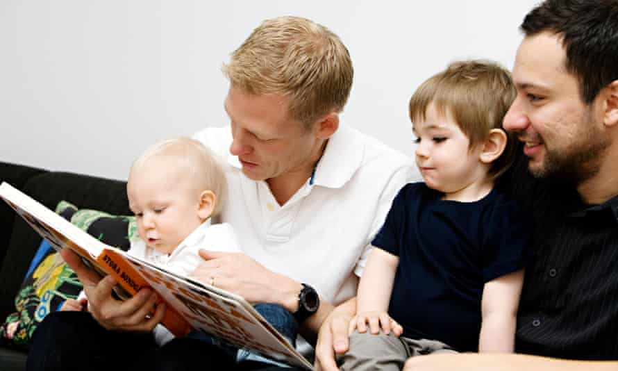 Book Trust wants fathers to read to their children for at least 10 minutes every day