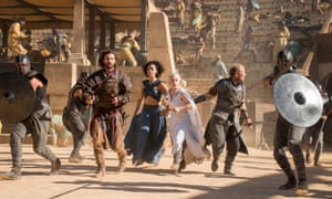 Protect the Queen! The re-opening of Meereen's fighting pits doesn't go to plan.