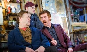 John Goodman, Tom Sturridge and Damian Lewis in American Buffalo at London's Wyndhams Theatre