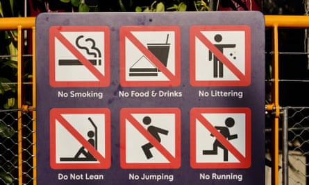 Singapore signs.