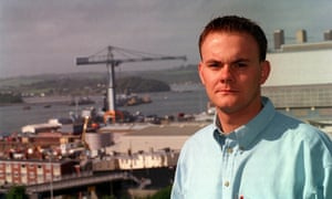 Richard Young, a navy chef who was the last serviceman discharged for being gay.