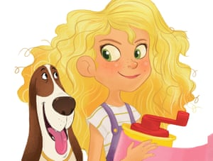 The Goldie Blox character was criticised for being white and blonde.