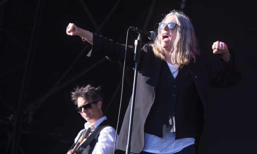 Patti Smith at Field Day 2015