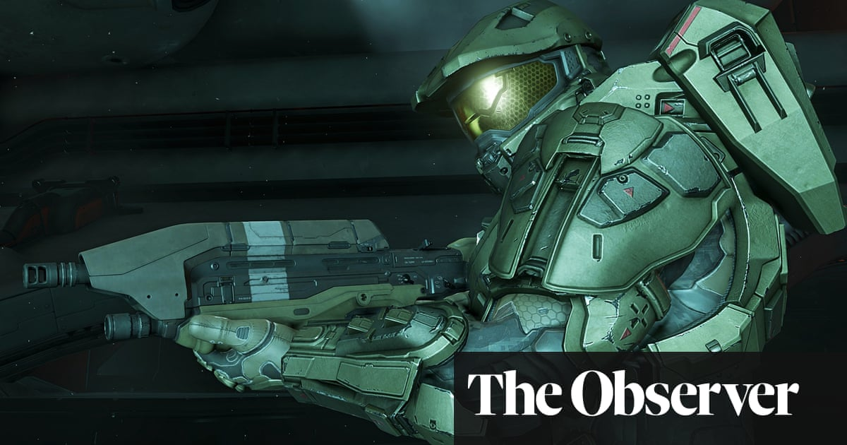 Halo 5 Guardians First Play Games The Guardian