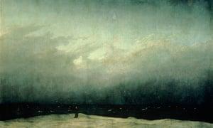 Monk by the Sea by Caspar David Friedrich