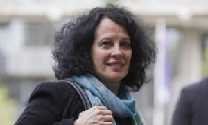 The French ambassador to Britain, Sylvie-Agnès Bermann