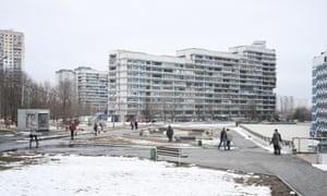 The Chertanovo suburb of Moscow.