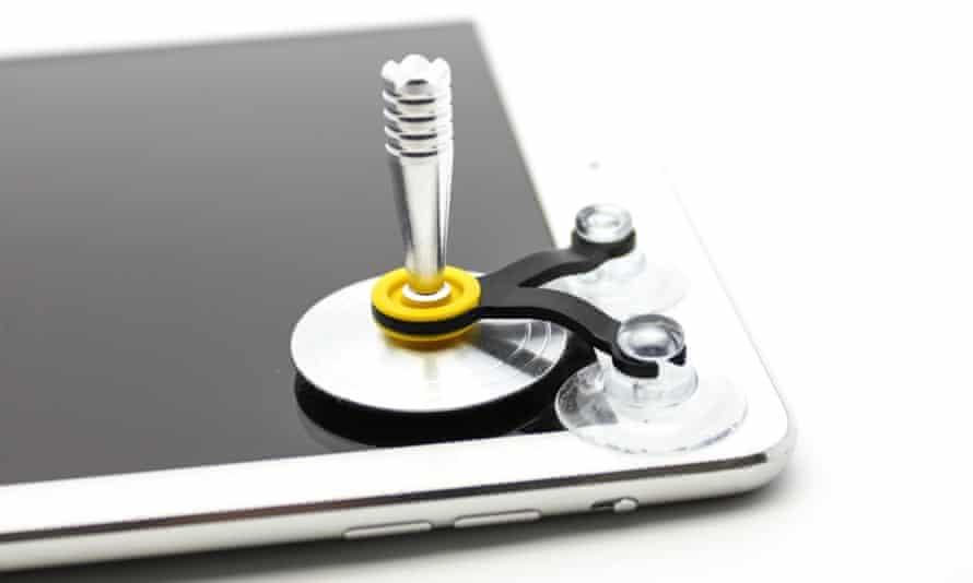 The Screenstick joystick for smartphones and tablets.