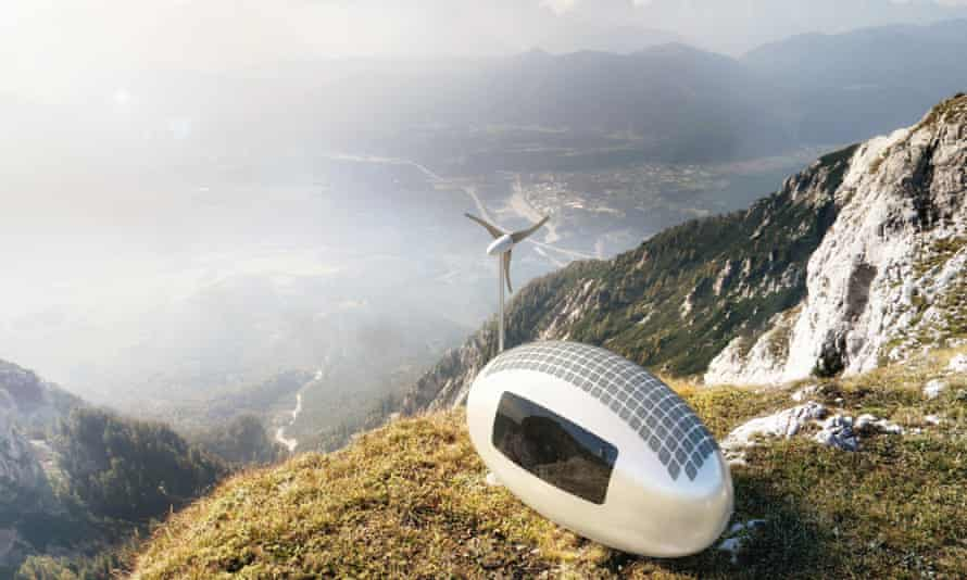The Ecocapsule environmentally friendly home.