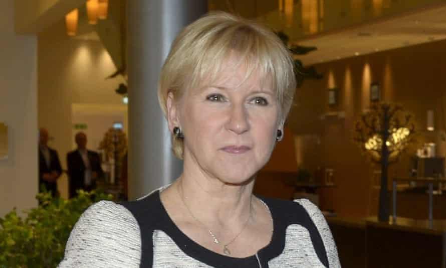 Sweden's foreign minister Margot Wallström.