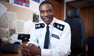 Tottenham police station's chief superintendent Victor Olisa in The Met