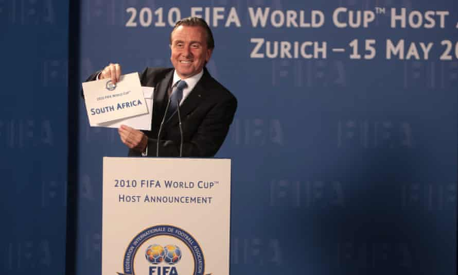 Tim Roth, as Sepp Blatter, in United Passions. The New York Times called it 'one of the most unwatchable films in recent memory, a dishonest bit of corporate-suite sanitising that's not good even for laughs'.