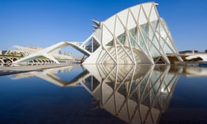 Science Museum, City of Arts and Sciences, Valencia, Spain.