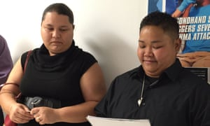 Kathleen M Aguero and Loretta M Pangelinan won a lawsuit against Guam's government after they were denied a marriage licence