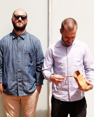 Tull (left) and Josh (right) Price, the owners of Feit