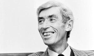 Georges Remi, aka Hergé, in 1981