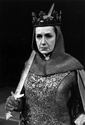 Peggy Ashcroft in The Wars of the Roses.