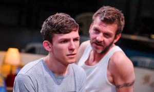 David Moorst (Liam) and Jason Hughes (Rick) in Violence and Son by Gary Owen