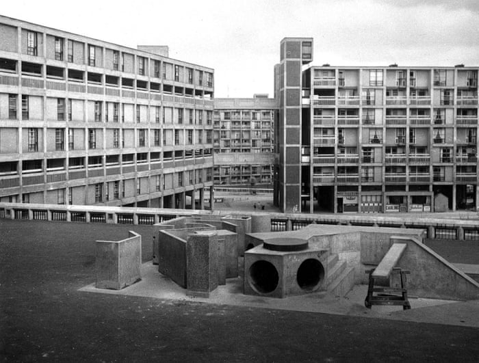 Park Hill Estate Sheffield, 1962