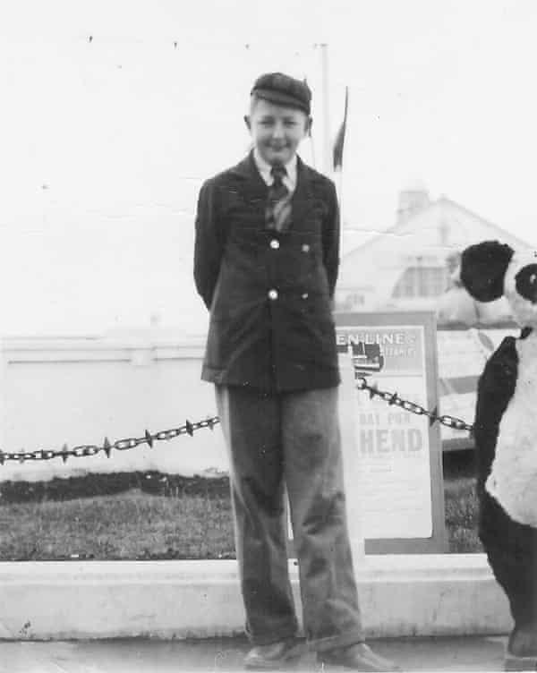 Michael Moorcock, Margate 1951.
